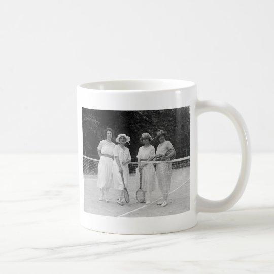 1920s Tennis Fashion Coffee Mug