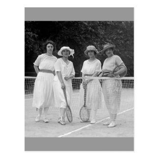 1920s Tennis Fashion Post Cards