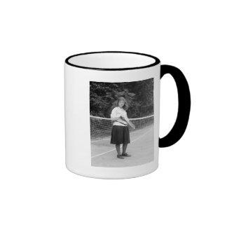 1920s Tennis Style Mug