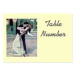 1920's Themed Wedding Table Cards Business Card Templates