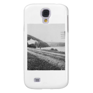1920's Train on Track Galaxy S4 Cases