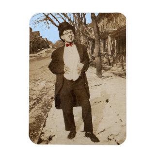 1920s vernacular photo classy young man magnet