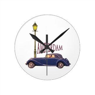 1920's Vintage Automobile - Amsterdam Clock