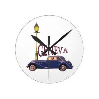 1920's Vintage Automobile - Geneva Clocks