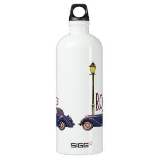 1920's Vintage Automobile - Rome Aluminum Water Bottle