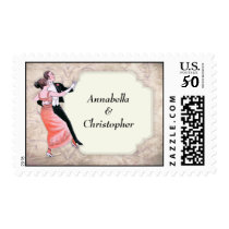 1920's Vintage Dancing Couple Postage Stamps
