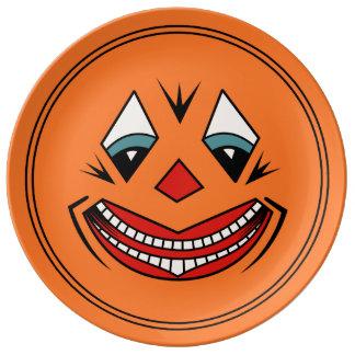 1920s Vintage Halloween Design Porcelain Plate