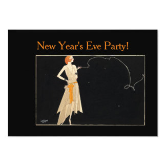 1920s Vintage Redhead Lady Card