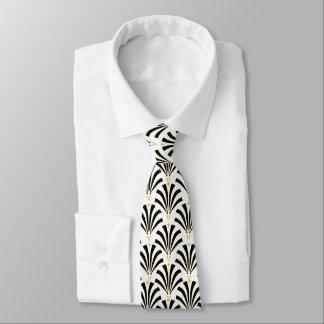 1920s Vintage Roaring Twenties Palmettos Tie