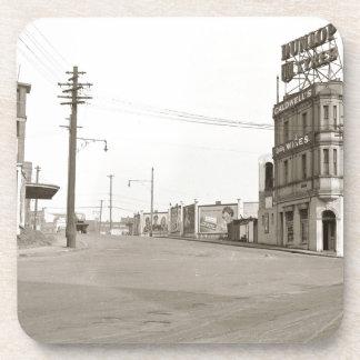 1920's vintage Street Photo Coaster