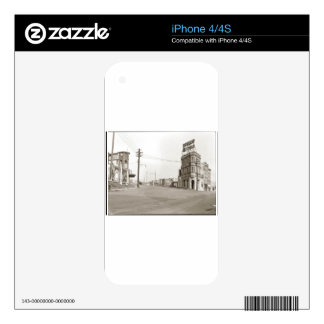 1920's vintage Street Photo Skins For The iPhone 4S