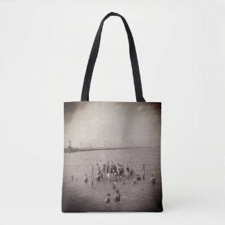 1920s Vintage Swimmers in Salt Lake Tote Bag