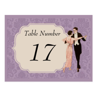 1920's Vintage Table Number Cards Post Cards