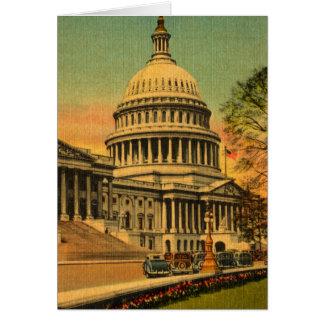 1920s Washington, DC Greeting Card