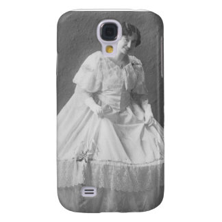 1920's Wedding Photo of Bride Galaxy S4 Covers
