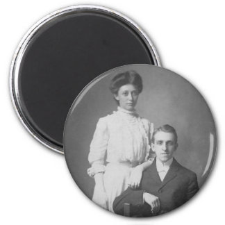 1920's Wedding Picture Refrigerator Magnets