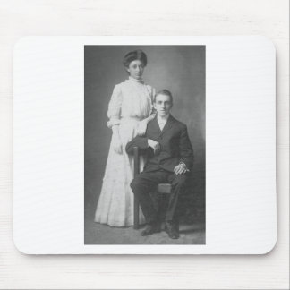 1920's Wedding Picture Mouse Pad