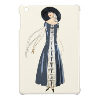 1920s Women's Fashion Dress and Hat iPad Mini Cases