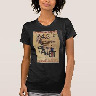 1921 Ballet Poster T-Shirt
