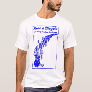 1921 Bikes Blue T-Shirt