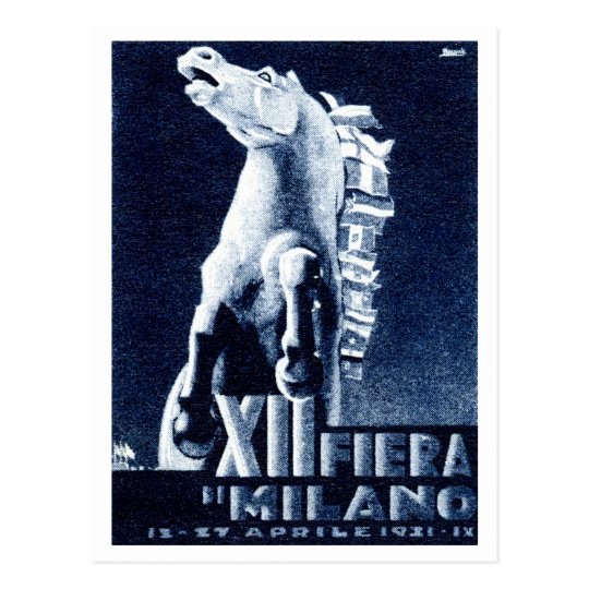 1921 Italian Film Festival Postcard