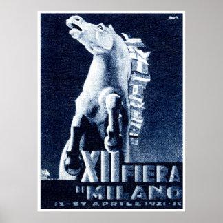 1921 Italian Film Festival Poster
