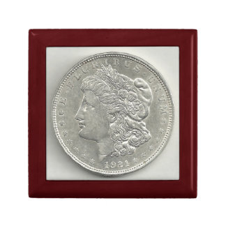1921 Morgan Silver Dollar Gift Box