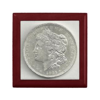 1921 Morgan Silver Dollar Gift Box