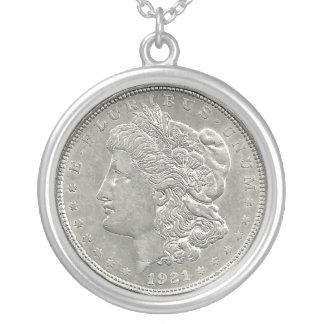 1921 Morgan Silver Dollar Necklace