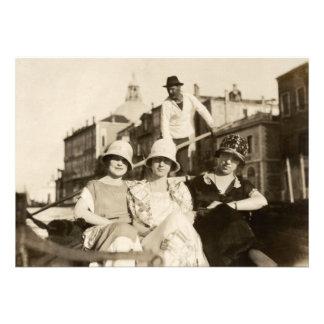 1921 novias en Venecia Invitaciones Personales