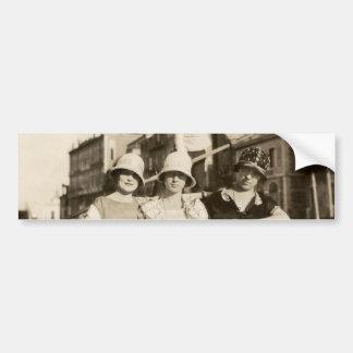 1921 novias en Venecia Pegatina Para Auto