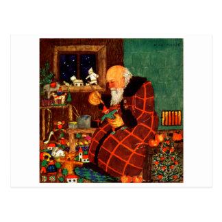 1921 Santas Workshop Post Card