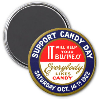 1922 Candy Day Magnet