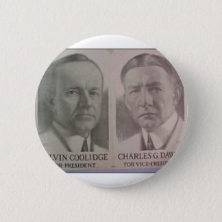 1922 Coolidge - Dawes Button