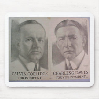 1922 Coolidge - Dawes Mouse Pad