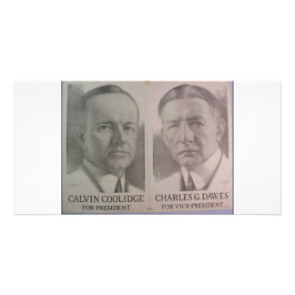 1922 Coolidge - Dawes Photo Card