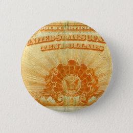 1922-Gold-Certificate Button