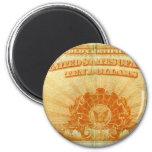 1922-Gold-Certificate Fridge Magnet