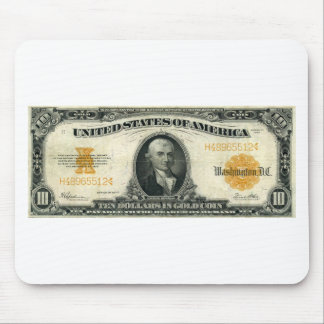 1922-Gold-Certificate-Gold Mouse Pad
