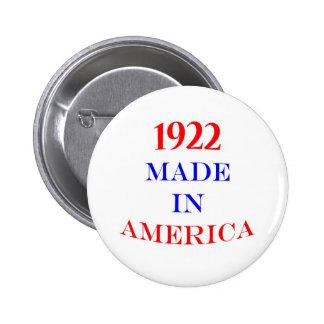 1922 hizo en América Pin