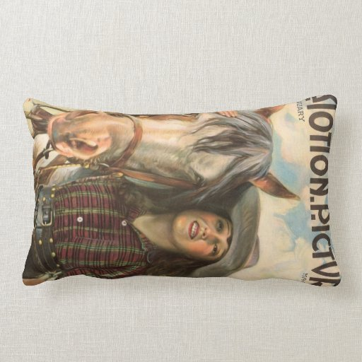 1922 Mabel Normand vintage movie magazine Throw Pillows