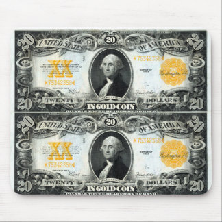1922 US Gold Certificate Mouse Pad