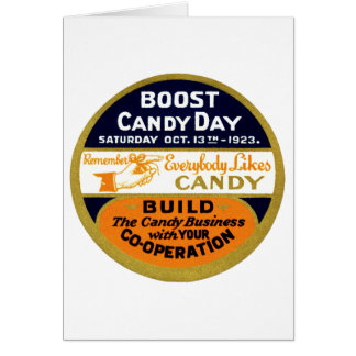 1923 Candy Day Cards