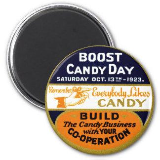 1923 Candy Day Fridge Magnet