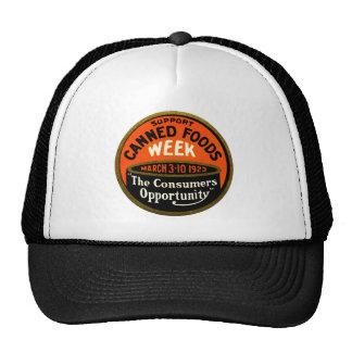 1923 Canned Foods Week Trucker Hat