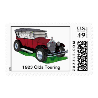 1923 Olds Touring Street Rod Postage Stamp