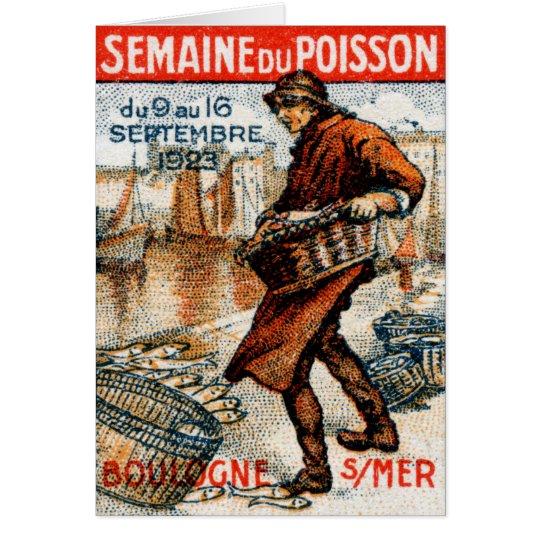1923 Seafood Festival Card