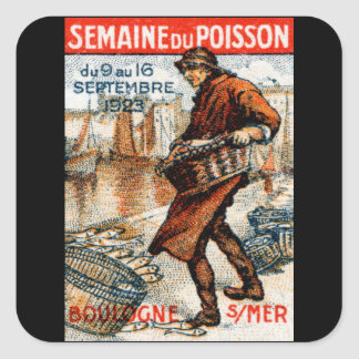 1923 Seafood Festival Square Sticker