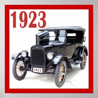 1923 TOURING CAR POSTER