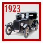 1923 TOURING CAR POSTERS
